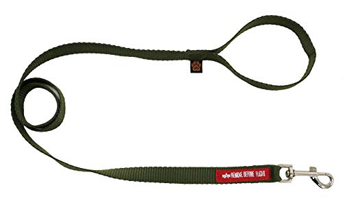 Alpha Industries Basic Dog Leash Hundeleine Dark Olive (L-2X)