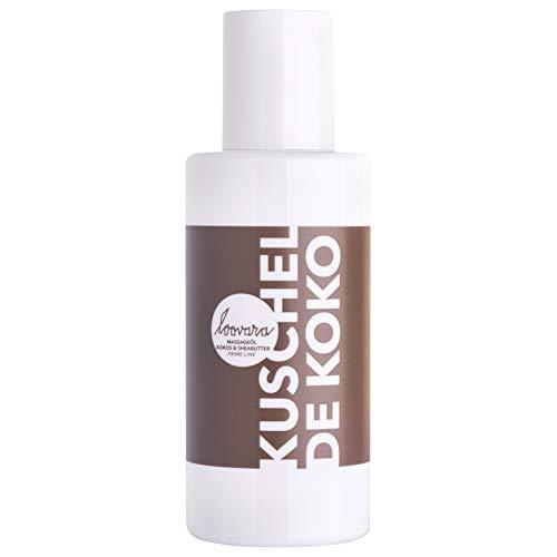 Loovara KUSCHEL DE KOKO – Premium Massage- und Körperöl (100 ml) | pflegendes, natürliches Öl mit Sheabutter & Kokosöl | Vorspiel, Partnermassage | Sex-Spielzeug geeignet