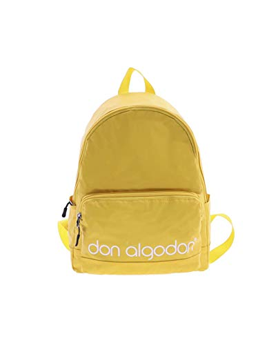 Don Algodón Mochila Colours City Escolar Deporte Viaje Unisex Portátil, Amarillo