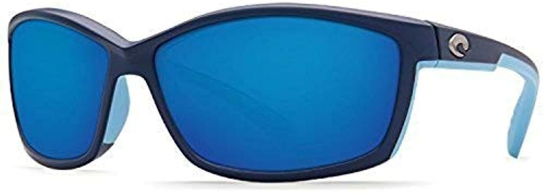Costa Del Mar Manta 580P Manta, Matte Heron blueee Mirror, blueee Mirror
