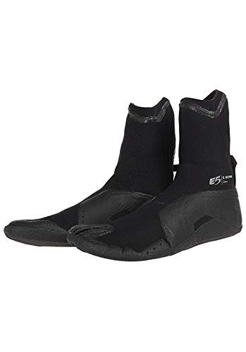RIP CURL E Bomb 3MM S/Toe Boot, Man, Color: Black, Size: 43 EU (10 US / 9 UK)