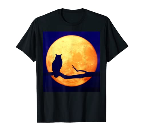 Retrato de un búho. #22 Camiseta