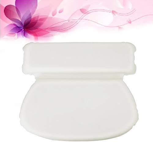 YardwePUスポンジサクションバスタブピロー吸着バスピロースパヘッドレスト浴室用トイレ(ホワイト)