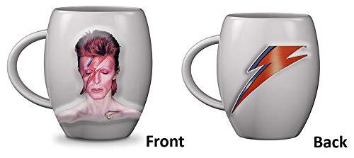 empireposter Bowie David Aladdin Sane Mok keramische mok, gebogen beker, ca. 470 ml.