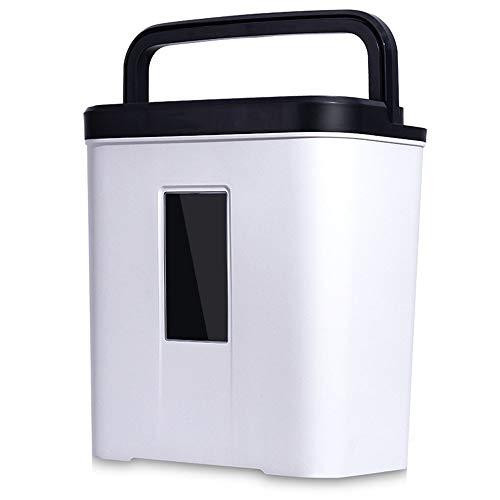 YAzNdom Elektrische hakselaar, voor kantoor, papierversnipperaar, vertrouwelijk, kleine deeltjes mini, vier versnipperaars, geheime familie-effect, 4 x 25 mm, crosscut shredder