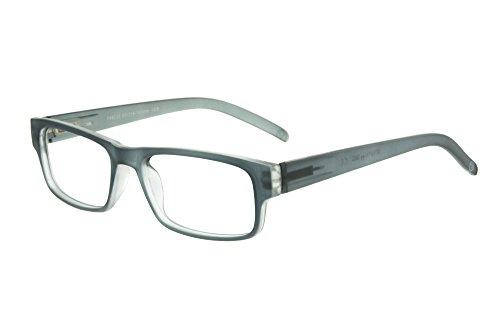 Edison & King - Moderne leesbril met mat-transparant montuur - in diverse sterktes