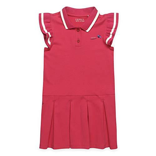ESPRIT KIDS Mädchen RQ3107302 Knit Dress Kleid, Rosa (Raspberry 393), (Herstellergröße: 128+)