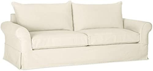 """Best The Cotton Sofa Cover (Width: 81""""~ 85"""", Not 92"""" !) Fits Pottery Barn PB Comfort Roll ARM Sofa"""