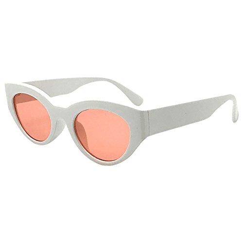 Wobang Gafas de sol vintage con ojo de gato para mujer, gafas de sol baratas para mujer 482 Talla única