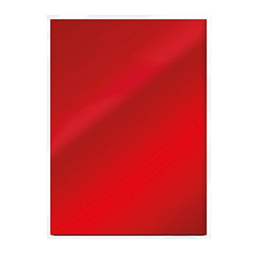 Tonic Studios Craft Card, Scarlet Organza, A4