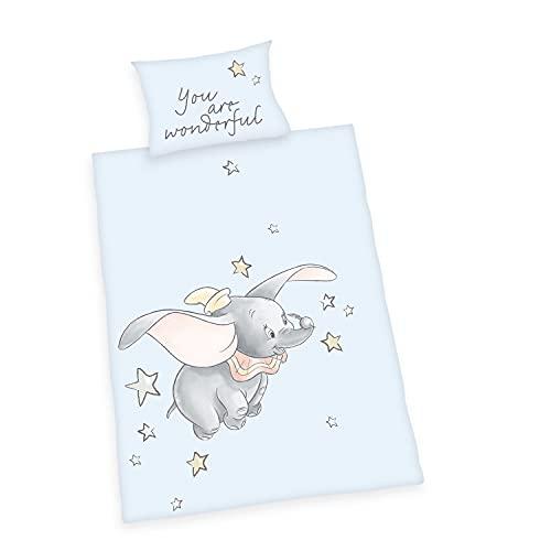Disney Dumbo - Juego de cama para bebé,...