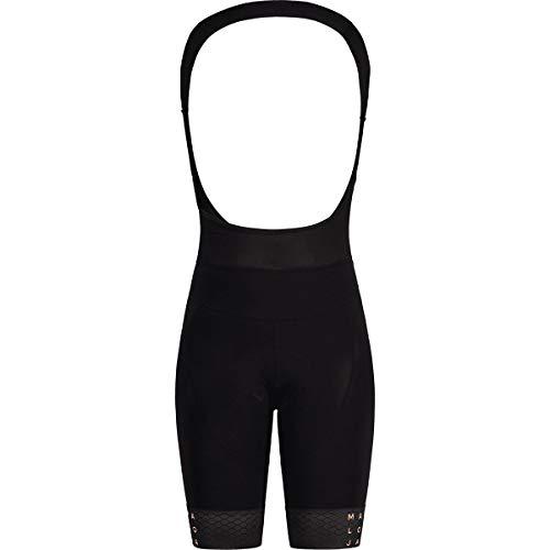 Maloja PushbikersM. Trägershorts Damen schwarz Größe M 2021 Bib Shorts