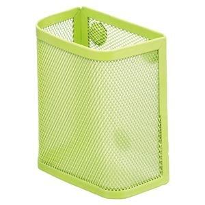 リヒトラブ マグネットポケット ペンスタンド 黄緑 A-7390-6 1個 ×10セット