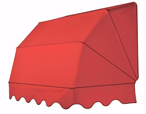 TENDAGGIMANIA Tenda da Sole Modello CAPPOTTINA A 4 Raggi per balconi, verande,...
