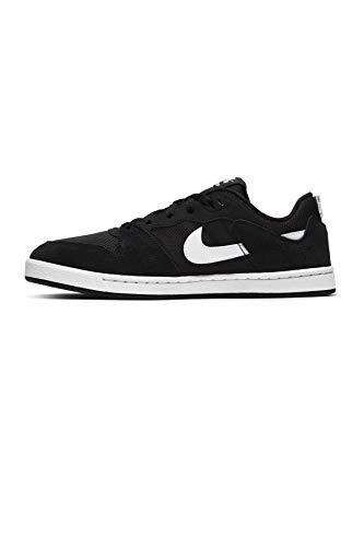 Nike SB ALLEYOOP (GS), Scarpe da Ginnastica, Black/White-Black, 38 EU