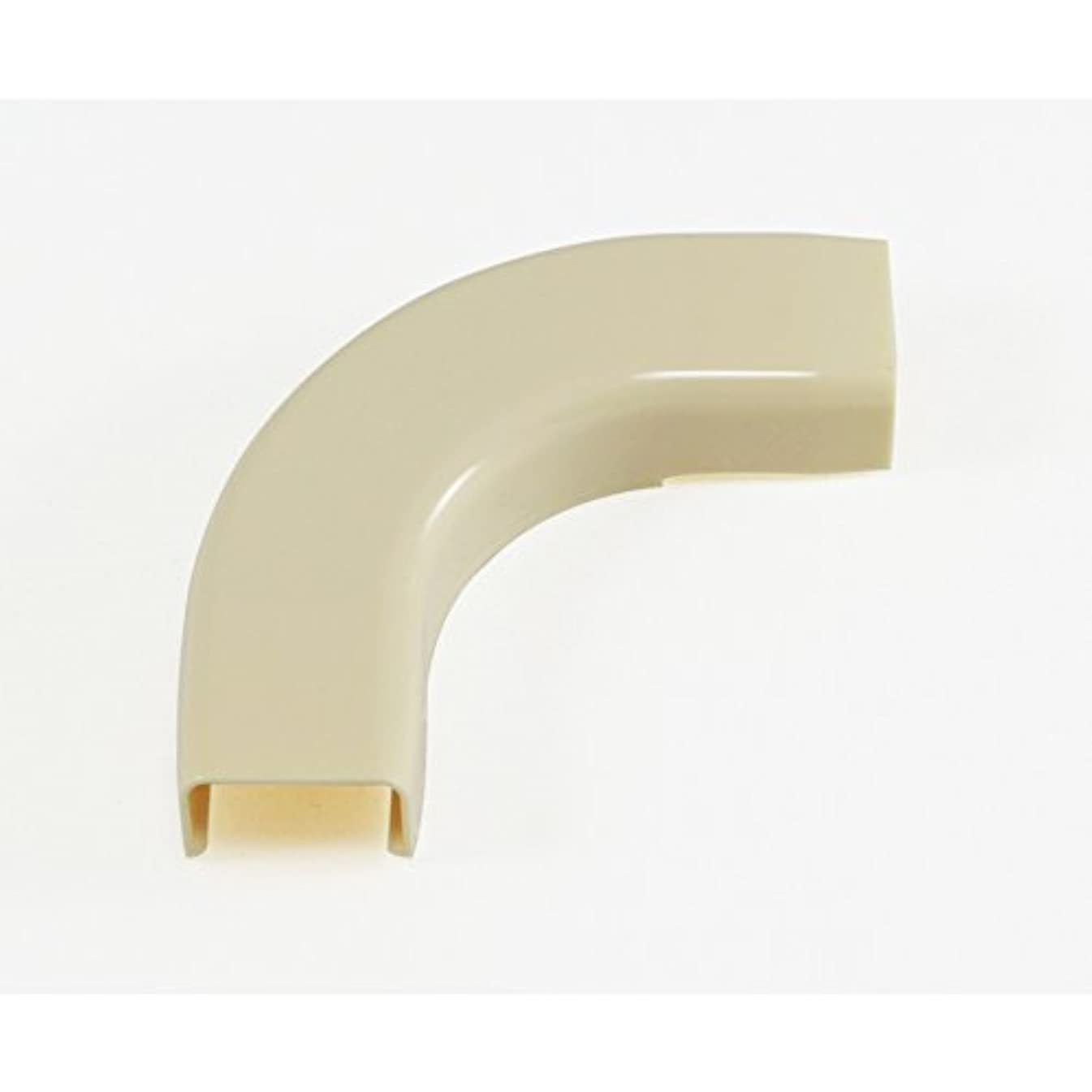 Mono-Systems CableHider 2-Piece Almond Raceway Elbow Kit-CH6-A