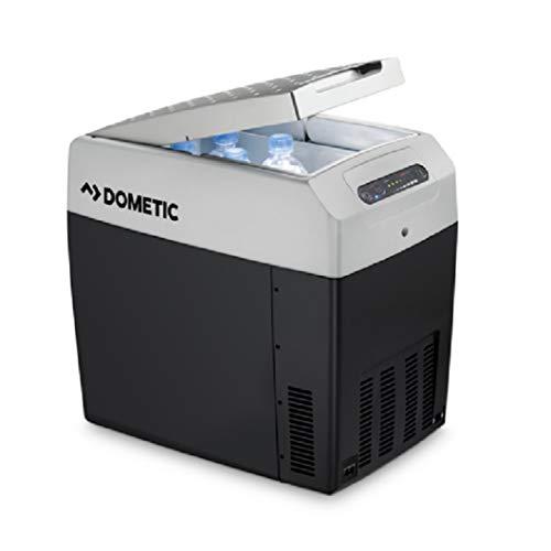 DOMETIC Kühlbox Tropicool TCX 12/24/230 V DC/AC, Leistungsstarke Kühltruhe Unterwegs und Zuhause (33 Liter)