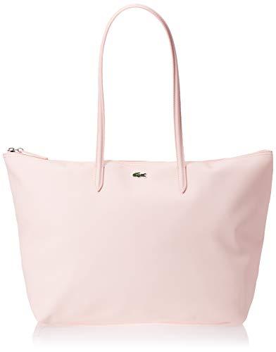Lacoste L.12.12 Concept, Sac porté épaule Femme,Rose (Pearl) , 14.5x30x34.5 cm (W x H x L)