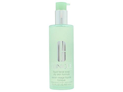 Clinique 3-Phasen-Systempflege Liquid Facial Soap unisex, Gesichtsseife, 1er Pack (1 x 400 ml)