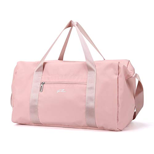 Gym Duffle Bag with Dry Wet Separated, Lightly Holdall Bags for Women, Large Waterproof Travel Bag for Hiking, Camping, Swimming and Yoga.