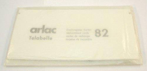 Arlac - Ersatzregister Karten (A-Z) für Telabelle