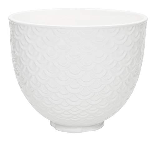 KitchenAid Ceramic Bowl 5-Quart Mixer- Mermaid Lace White