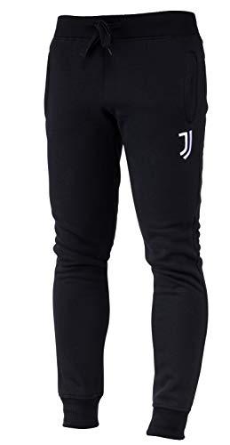 Juventus Herren-Hose, Fleece, offizielle Kollektion L Schwarz