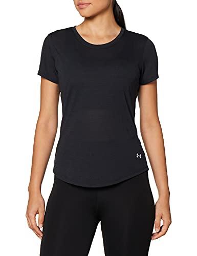 Under Armour Camiseta para Mujer Streaker SS Transpirable con Detalles Reflectantes, de Secado rápido.