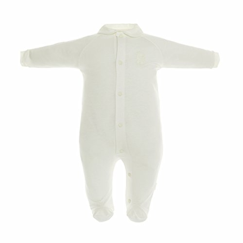 Cambrass 18217 - Pelele para recién Nacidos, Talla 68 cm (3 a 6 Meses), Color Beige