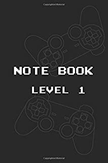 Notebook Level 1: Lined Notebook Level 1 / Journal / Dairy, 100 blank pages, 6 x 9 inches, Matte Finish Cover
