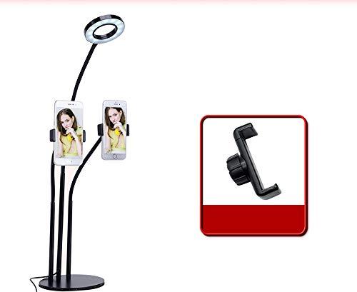 WANGXB LED Anillo de luz,Anillo de luz,Soporte de micrófono en voladizo,Manguera de...