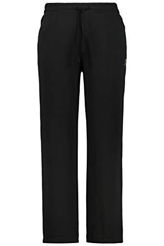 JP 1880 Herren große Größen bis 8XL, Jogginghose, Hose mit elastischem Bund und Saum, 2 Eingrifftaschen, gerade geschnitten schwarz 4XL 702635 10-4XL