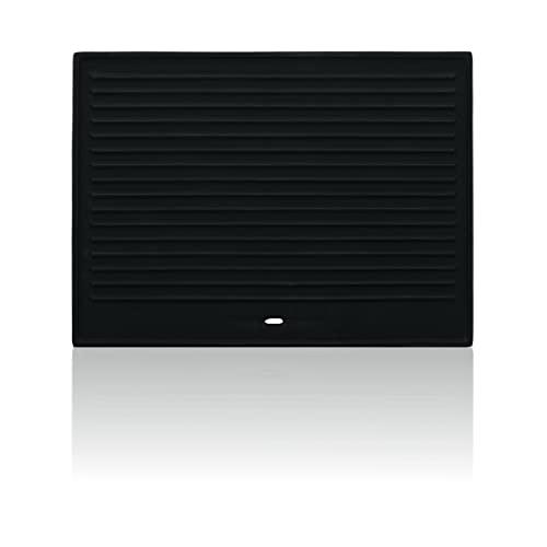 BBQ-Toro Gusseisen Grillplatte 41,5 x 31 cm | Wendeplatte, emailliert | beidseitig verwendbar | passend für BBQ, Gasgrill, Holzkohlegrill