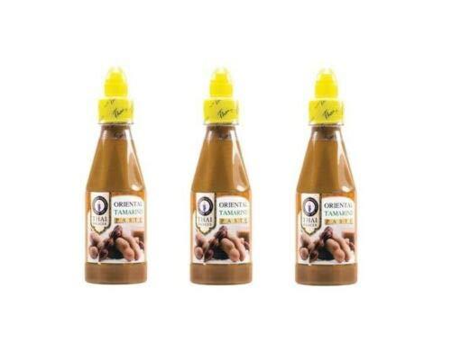 Pamai Pai® Dreierpack: 3 x 250ml Tamarinden Paste Thai Dancer Tamarind Sauce Tamarindenpaste