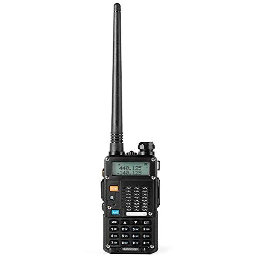 Ham Radio Walkie Talkie (UV-5R 8-Watt) UHF VHF Dual Band 2-Way Radio with 2 Rechargeable 2100mAh Battery Handheld Walkie… 4