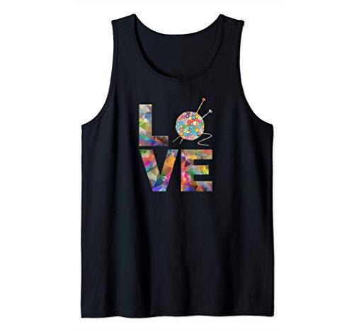 Tejedora regalo de punto, ganchillo Amor Yarn Patrones de Camiseta sin Mangas