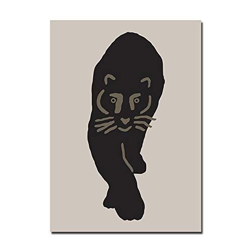 wen-shhen Rompecabezas de 1000 Piezas, Rompecabezas para niños, Rompecabezas Familiar, Rompecabezas de cartón, Juego de Rompecabezas Nordic Cute Panda Canvas Art Animal Nursery Kids Baby Girl Bedroom