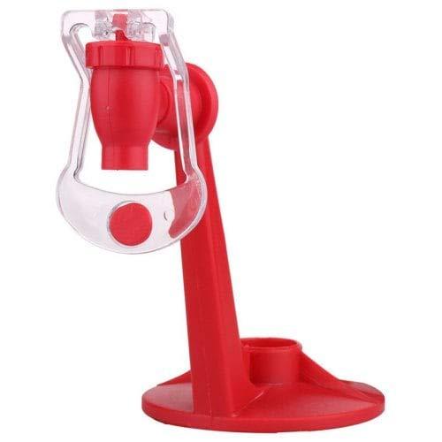 WZhen Bebida Dispensadora De Agua Invertida De Botella De Coca-Cola - Rojo