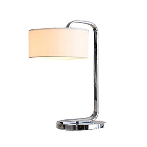 HYY-YY Lámparas de mesa, sencillas de acero inoxidable, modernas, minimalistas, modernas, creativas, bodas, dormitorios, lámpara de noche, lámpara de noche, lámpara de noche, lámpara de mesa