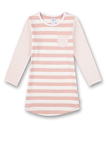Sanetta Mädchen rosa Nachthemd, Silver pink, 128