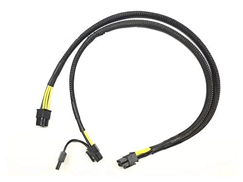 Shutters 10Pin a 6 + 8Pin Cable de alimentación Cable para HPE DL380 G9 e Intel Xeon PHI GPU 50cm