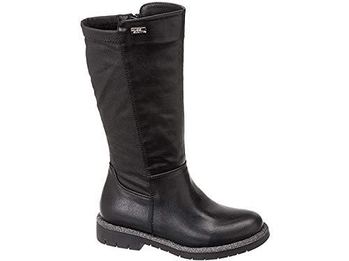 Miss Sixty, Stivaletto Bambina nero con cerniera laterale, Junior, Black, Boots w20-SMS852 (numeric_38)