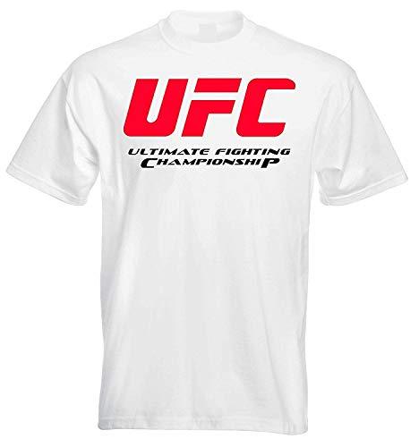 Men Casual Shirt Fashion Shirt UFC Ultimate Fighting Championship Mens T Shirt