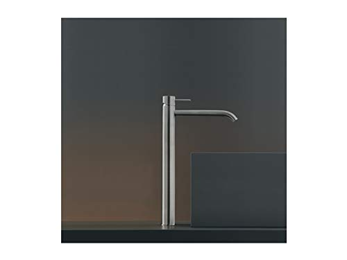 CEA Milo360 rubinetto lavabo monocomando MIL18-Acciaio Lucido