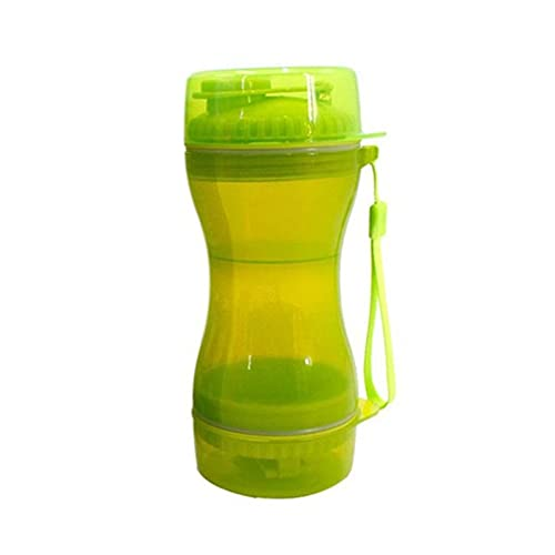 QOXEFPJZ dog water bottle 600ML 3 in 1 Portable Pet Dog Water Bottle Drinking Travel Puppy Cat Drink Bowl Outdoor pet Water Dispenser Feeder Pet Product (Color : C, Size : L)