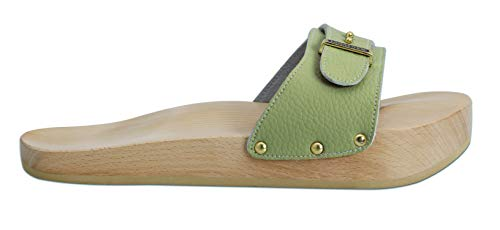 Lanaform Dynastatic ® - Chaussures Minceur Anti-Cellulite/Effet raffermissant (Kaki, Numeric_37)