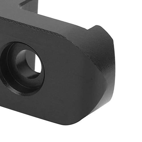 Okuyonic robust, langlebig, Faltbare Hakenschnalle Steckstift verformungsfrei Exquisite Verarbeitung XIAOMI M365/PRO Elektroroller für Trailriding(Black)