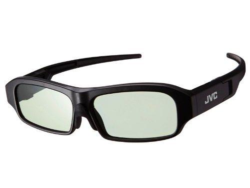 JVC PK-AG3G Steroskopische 3-D Brille Schwarz 1 Stück(e) - Steroskopische 3-D Brillen (100 h, 2,5 h, 38 g, Schwarz, 1 Stück(e))