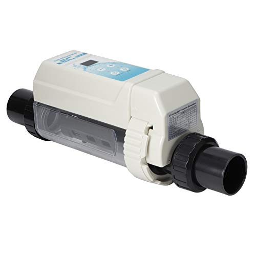 Gmkjh Generador clorador, Piscina de 8 g/h Agua Salada Generadores de Cloro salino Electrólisis Dispositivo clorador de Sal para spas Piscina 100‑240V