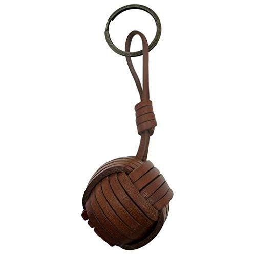 JOSVIL Llaveros de cuero. Llavero de cuero artesanal con nudo marinero fabricado 100% en España con las mejores calidades.